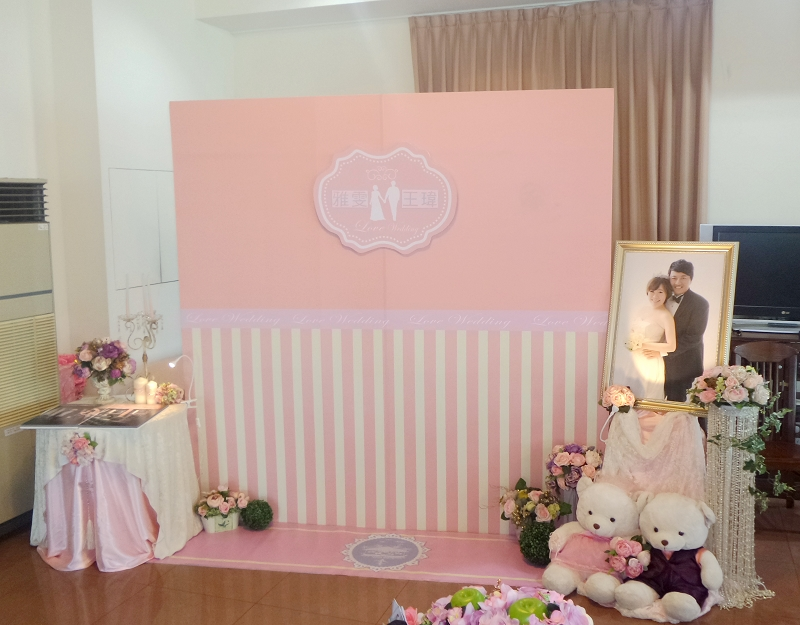 婚礼布置【 作品】图片